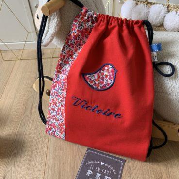 Le sac à dos 2 couleurs