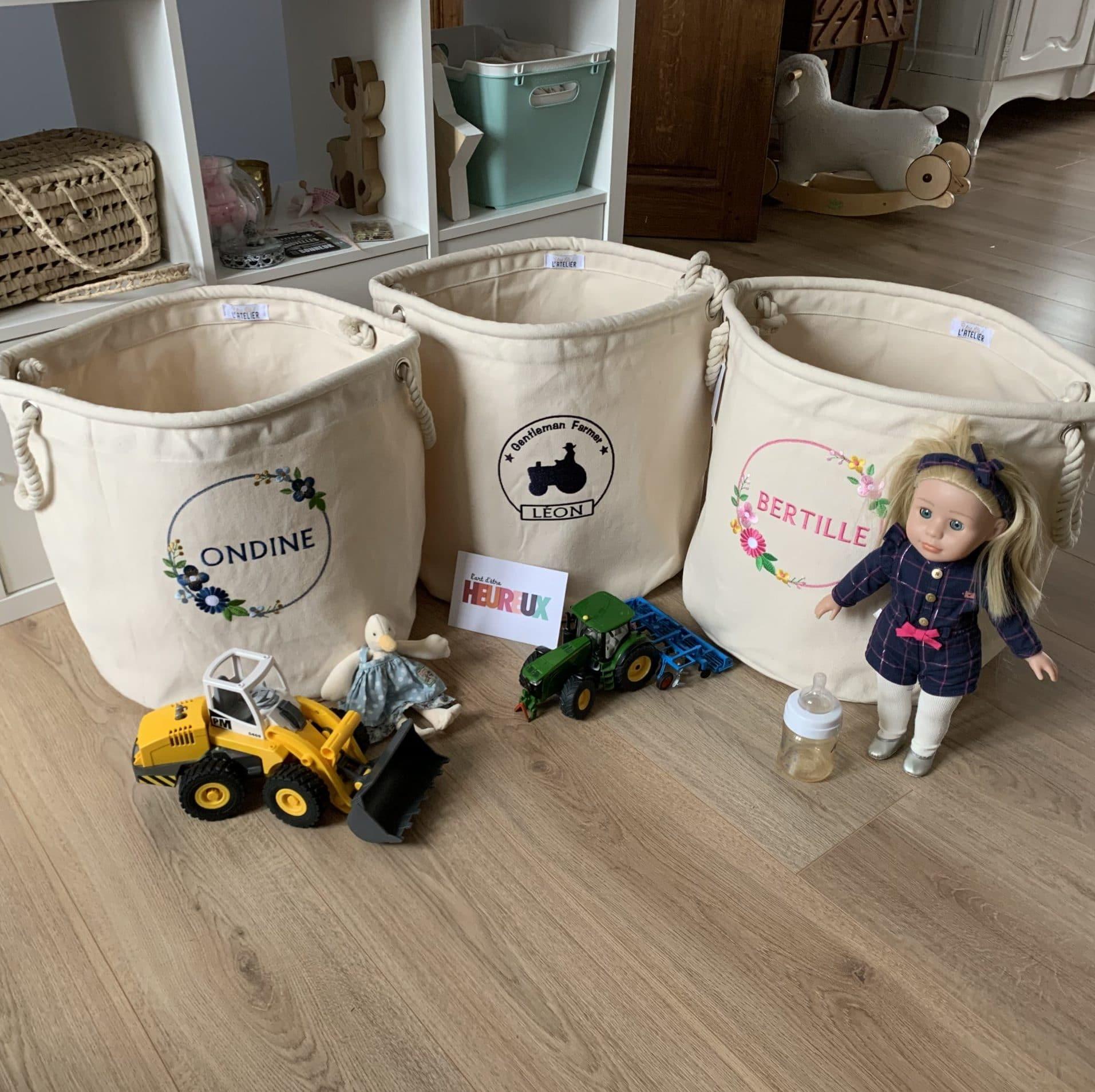 Le sac à jouets
